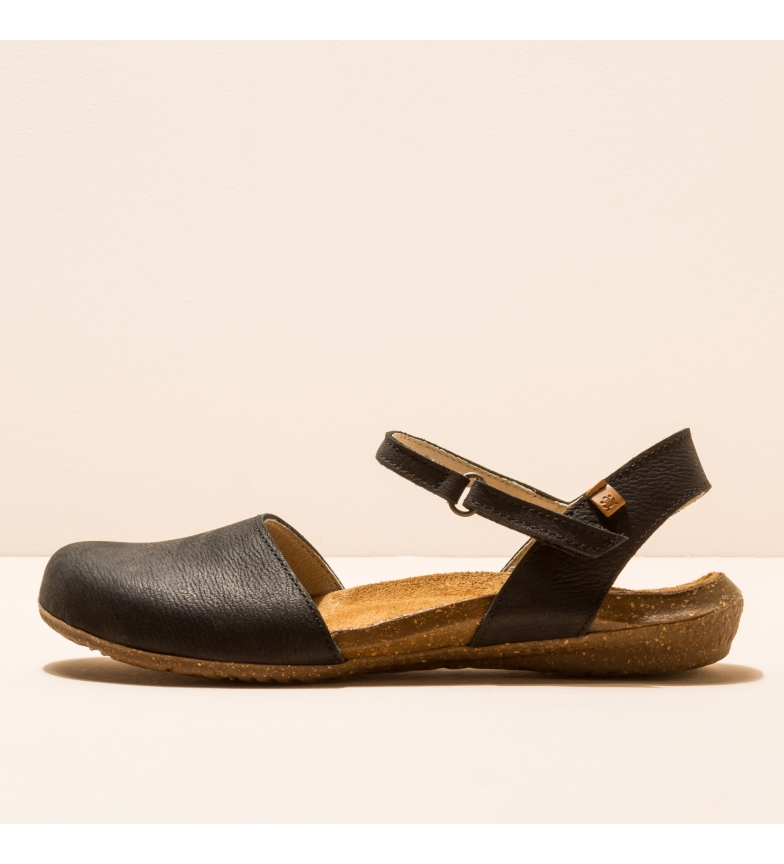 EL NATURALISTA Leather shoes N412 Wakataua black