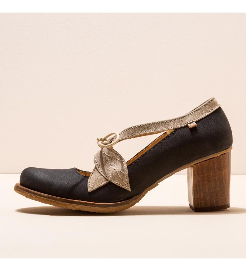 Comprar EL NATURALISTA Scarpa in pelle N5113 Picot nera -Altezza tacco: 7cm-