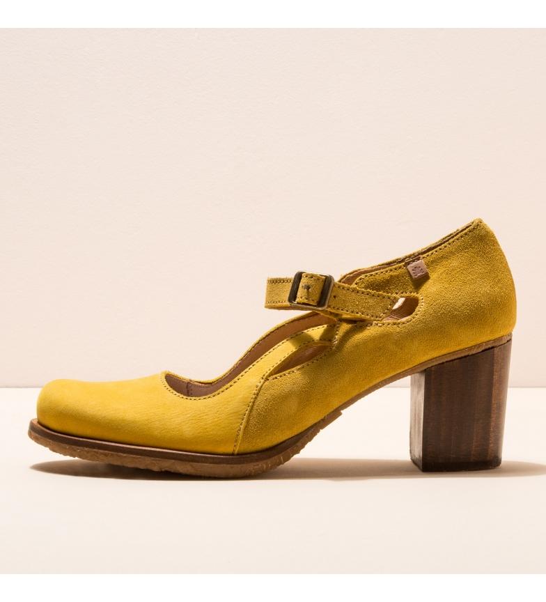 Comprar EL NATURALISTA Chaussures en cuir N5114 Picot jaune -Hauteur du talon : 7cm