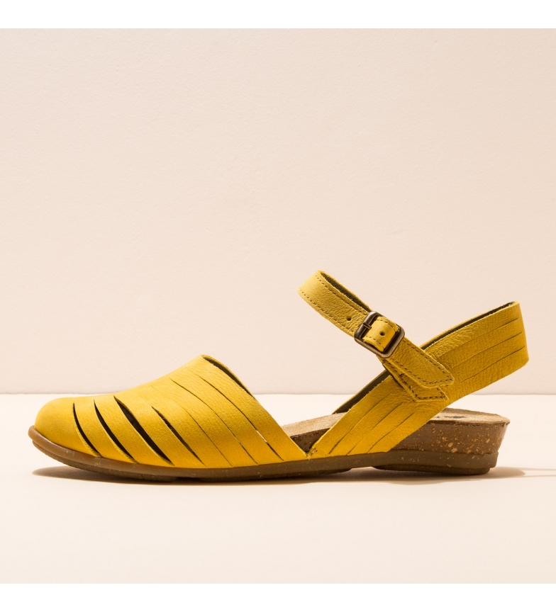 Comprar EL NATURALISTA Sandales en cuir jaune N5201 Stella