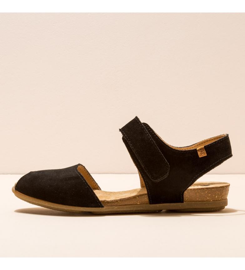 Comprar EL NATURALISTA Sandalias de piel N5206 Stella negro