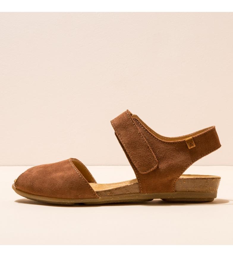 Comprar EL NATURALISTA Sandálias de couro castanho N5206 Stella