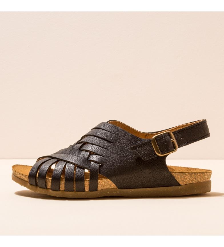 Comprar EL NATURALISTA Sandálias de couro N5246 Zumaia preto