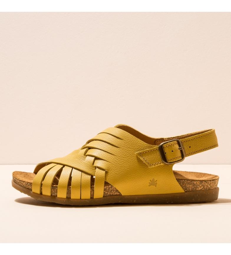 Comprar EL NATURALISTA Sandálias de couro N5246 Zumaia amarela