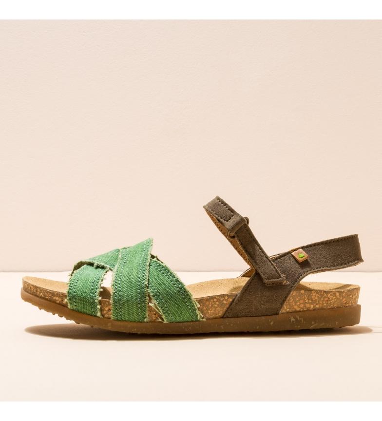 Comprar EL NATURALISTA Sandals N5249T Organic Co-m. Zumaia green