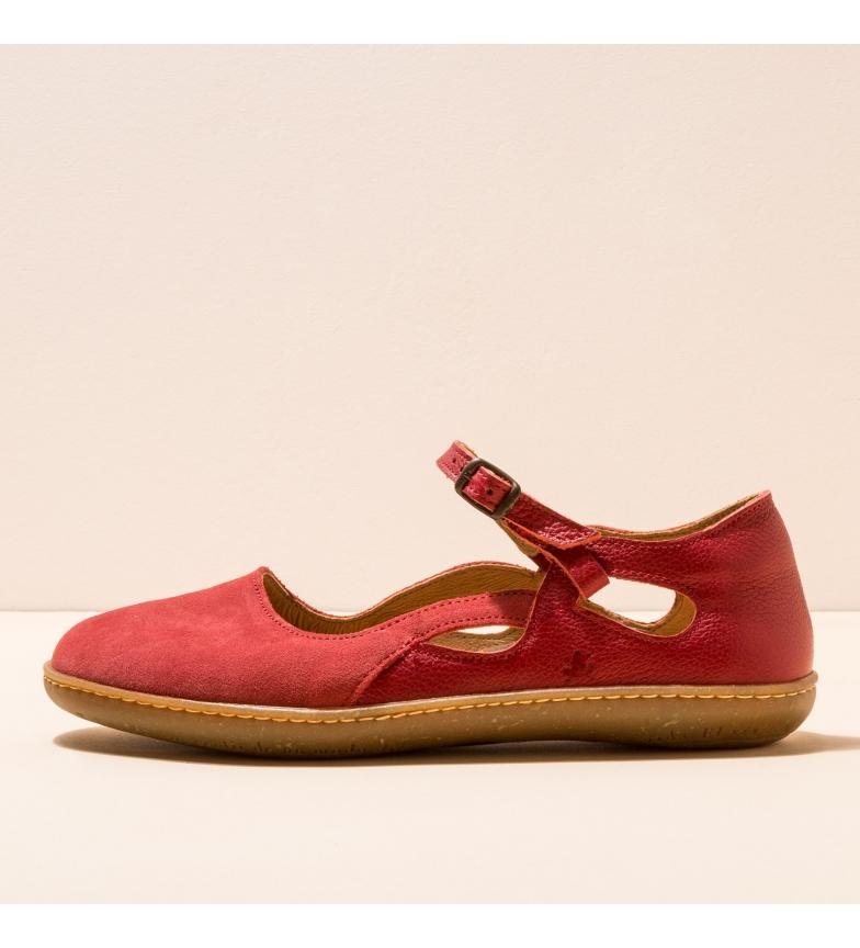 Comprar EL NATURALISTA Bailarinas de couro N5287 El Viajero vermelho