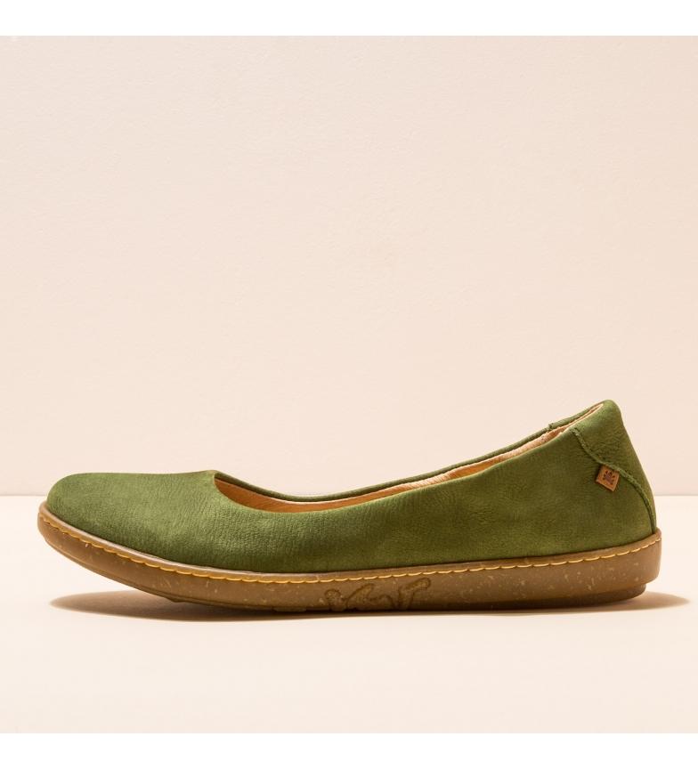 Comprar EL NATURALISTA Bailarinas de piel N5300 Coral verde