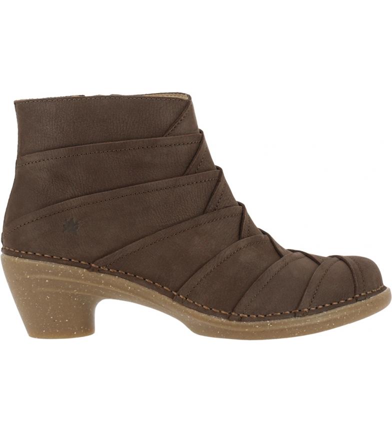 Comprar EL NATURALISTA Bottines en cuir marron N5337 Pleasant - Hauteur du talon : 5,5cm