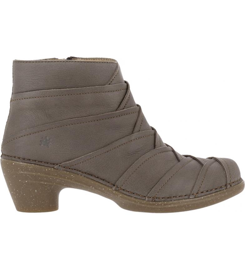 Comprar EL NATURALISTA Bottines en cuir gris N5337 Pleasant - Hauteur du talon : 5,5cm