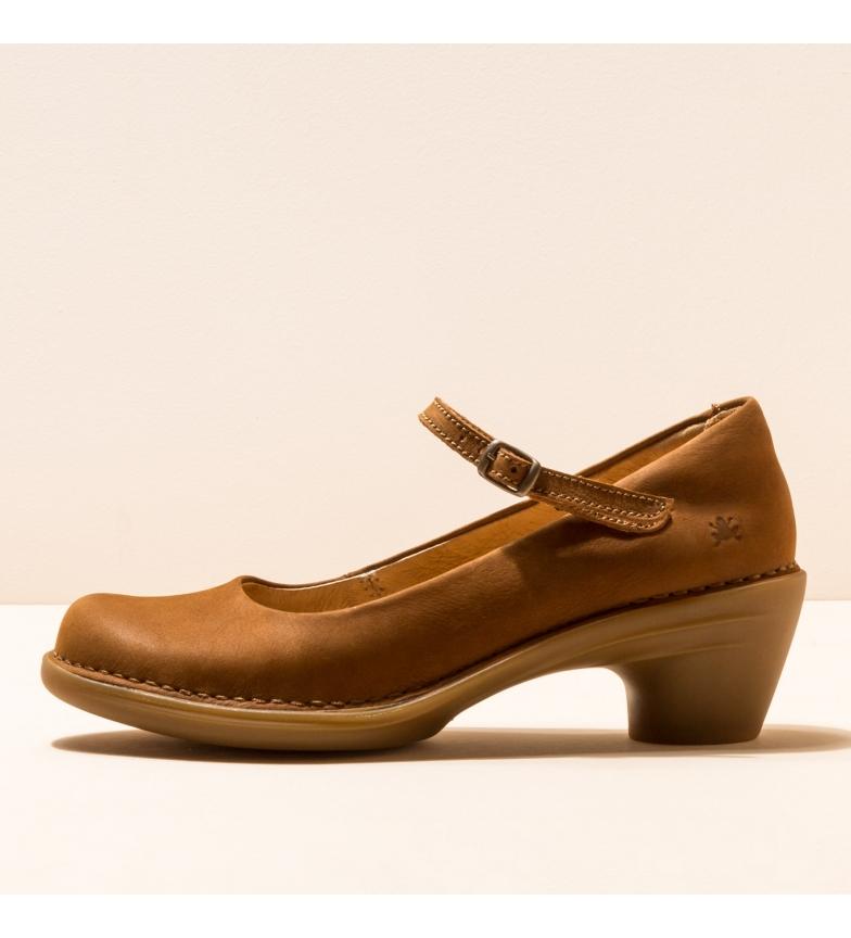 Comprar EL NATURALISTA Chaussures en cuir N5370 Aqua brown -Hauteur du talon : 5,5cm- -Hauteur du talon : 5,5cm- -Hauteur du talon : 5,5cm- -Chaussures en cuir N5370 Aqua brown
