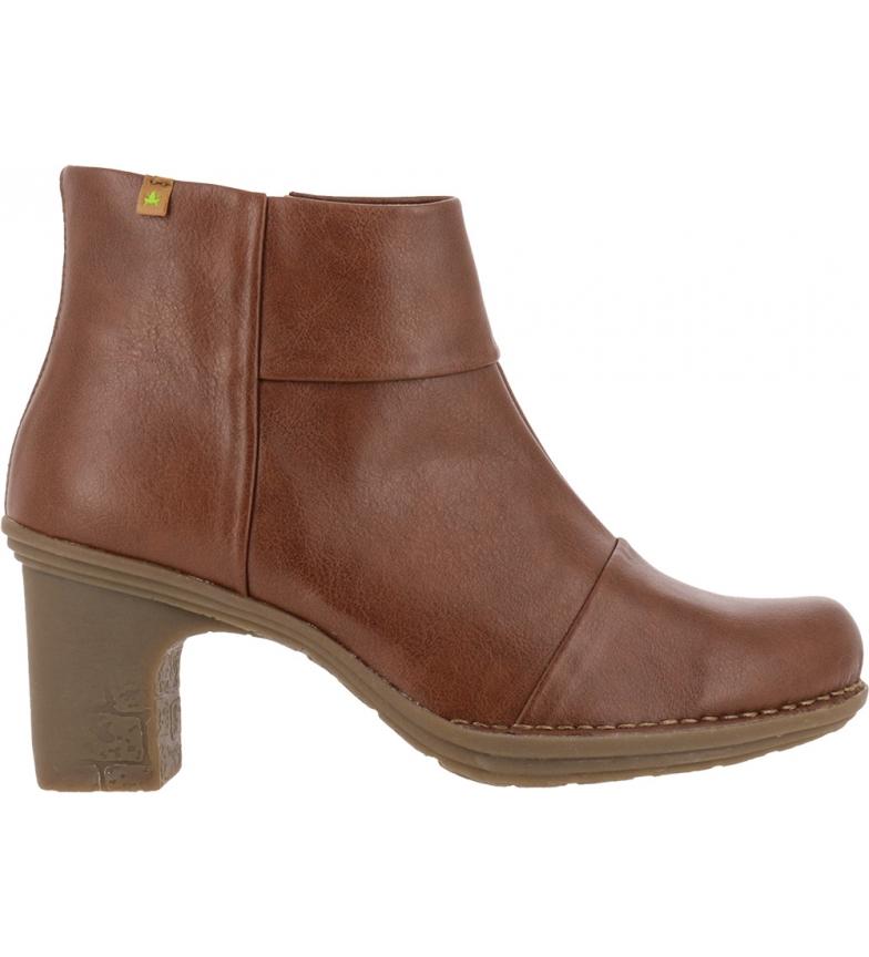 Comprar EL NATURALISTA Booties Dovela N5401t Vegan brown -Heel height: 7 cm