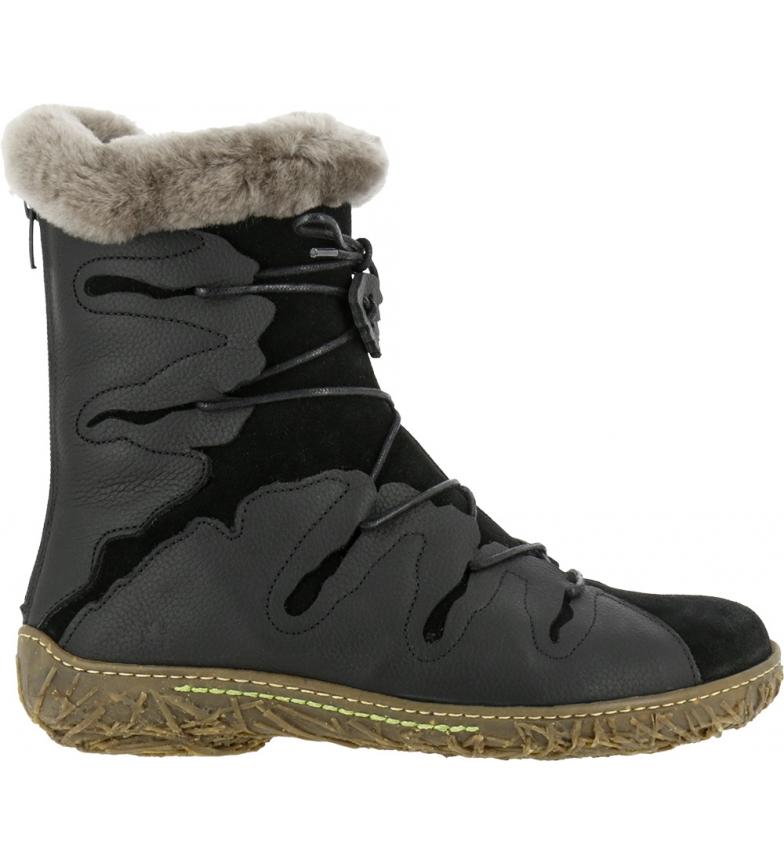 Comprar EL NATURALISTA Leather boots N5447 Soft Grain-lux Suede Black/ Nest