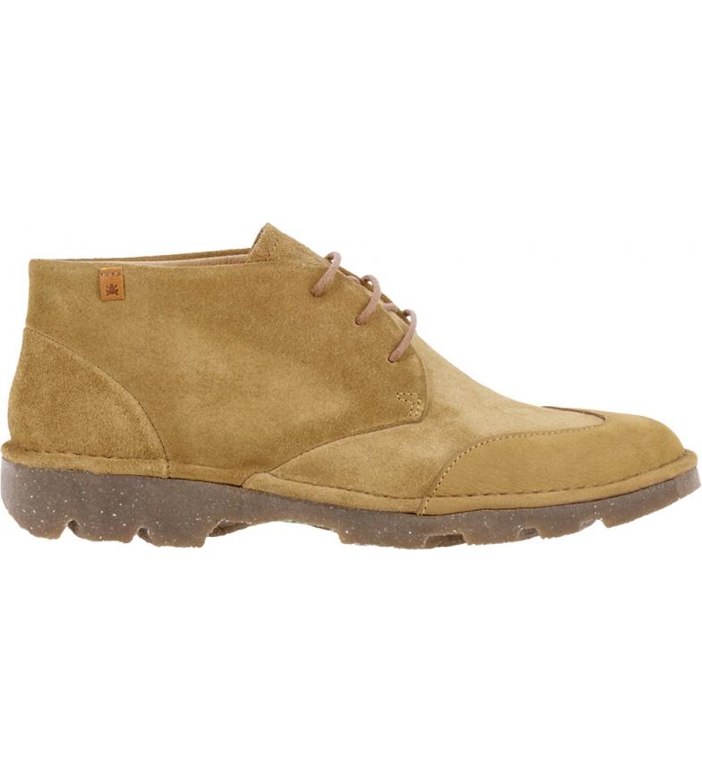 Comprar EL NATURALISTA Leather ankle boots Forest N5530 camel