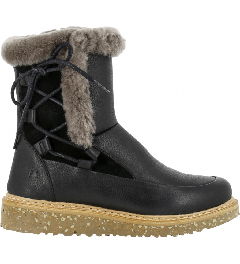 Comprar EL NATURALISTA Stivali in pelle N5556 Soft Grain-lux nero
