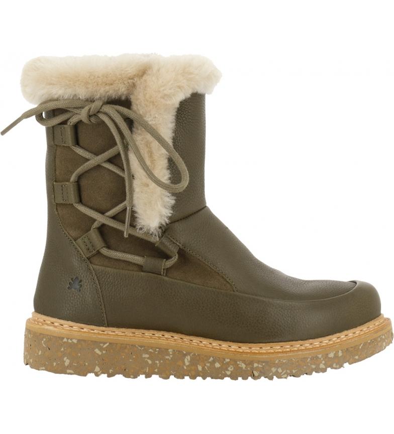 Comprar EL NATURALISTA Stivali in pelle N5556 Soft Grain-lux Suede verde scamosciato