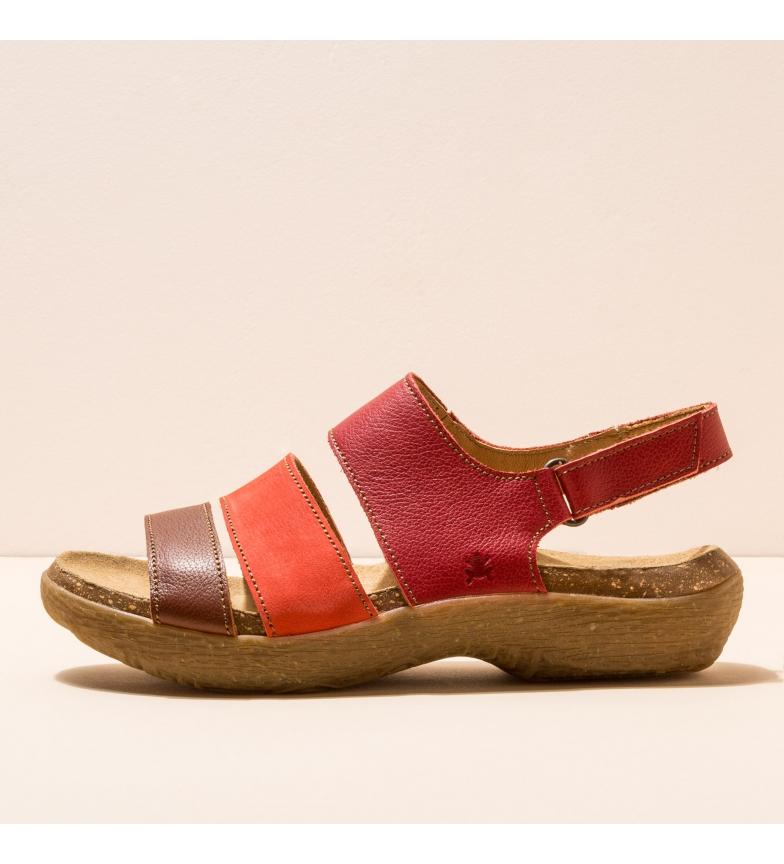 Comprar EL NATURALISTA Sandali in pelle N5702 Wakatiwai rosso