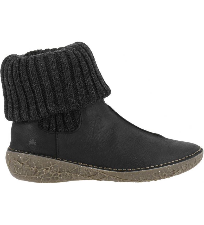 Comprar EL NATURALISTA Borago leather ankle boots N5726 black