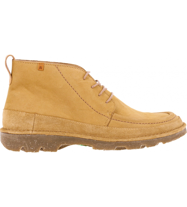 Comprar EL NATURALISTA Botas de couro para tornozelo N5741 Forest Man camelo