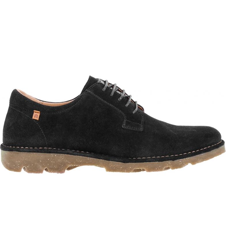 Comprar EL NATURALISTA Sapatos de couro N5743 Lux Camurça preta