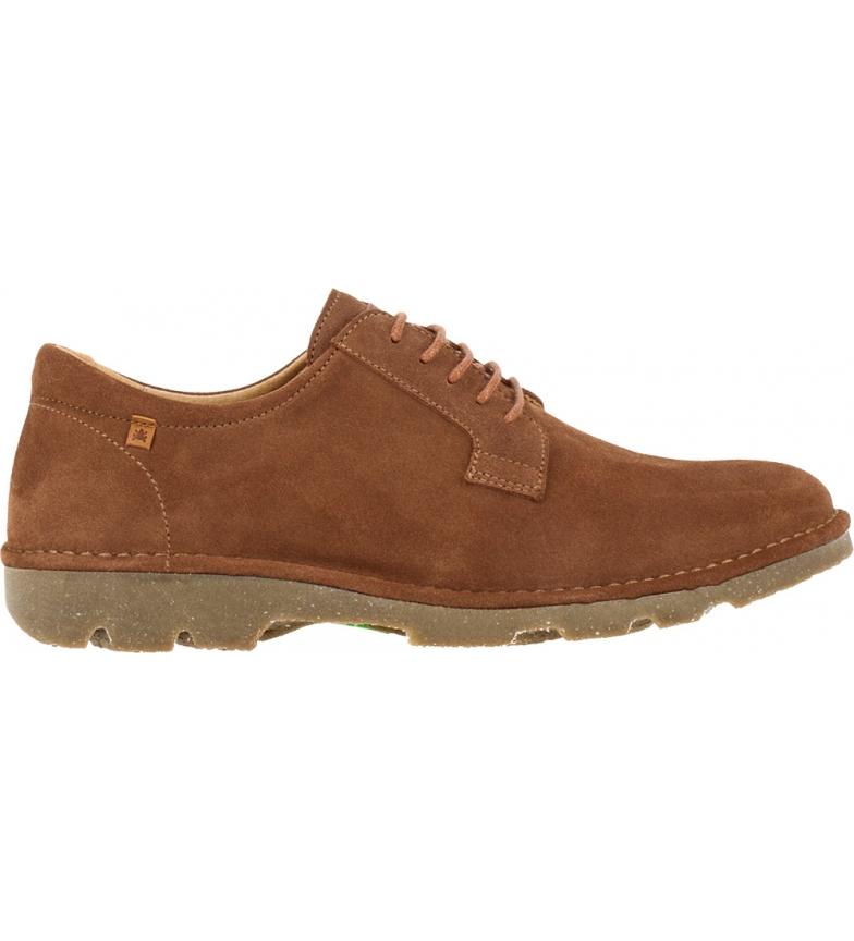 Comprar EL NATURALISTA Sapatos de couro N5743 Lux Camurça castanha