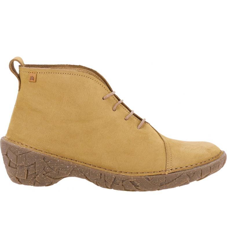 Comprar EL NATURALISTA Warao leather ankle boots N5782 camel -Heel height: 5,5 cm