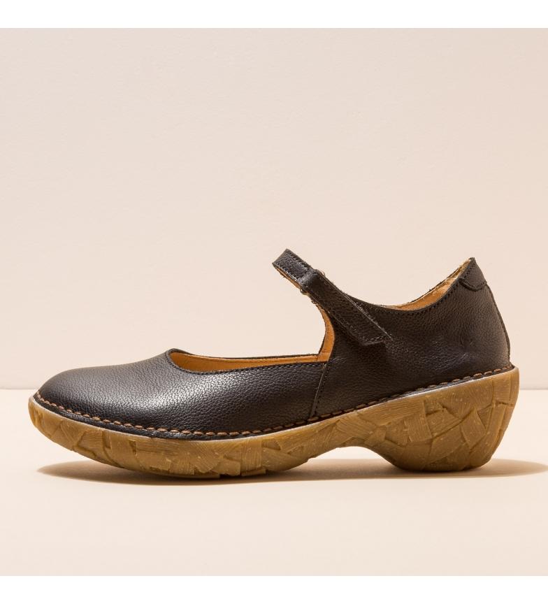 Comprar EL NATURALISTA Chaussures en cuir N5784 Warao noir -Hauteur du talon : 5,5cm- - Chaussures en cuir N5784 Warao noir -Hauteur du talon : 5,5cm- - Chaussures en cuir N5784 Warao noir