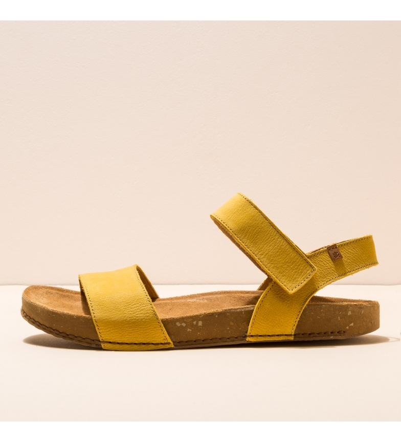 Comprar EL NATURALISTA Sandali in pelle N5790 Balance giallo