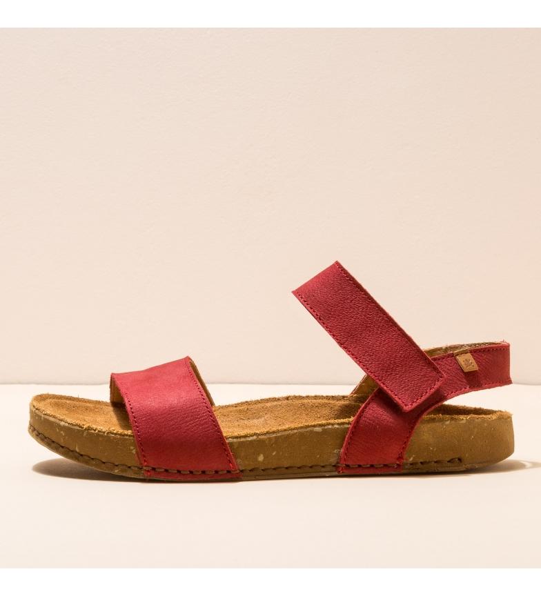 Comprar EL NATURALISTA Sandales en cuir N5790 Balance rouge