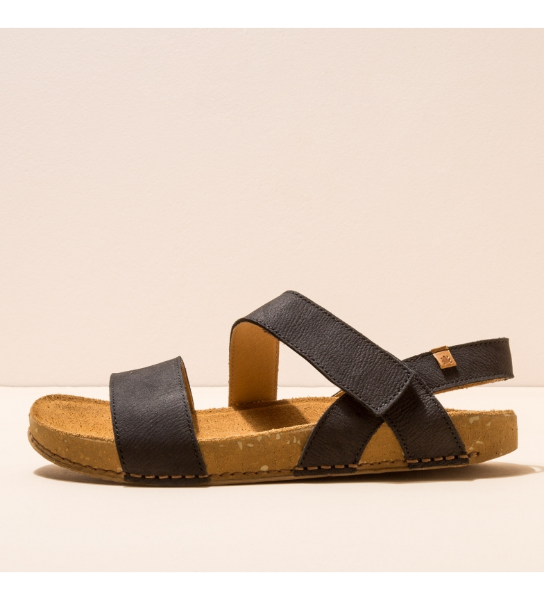 Comprar EL NATURALISTA Sandalias de piel N5791 Balance negro