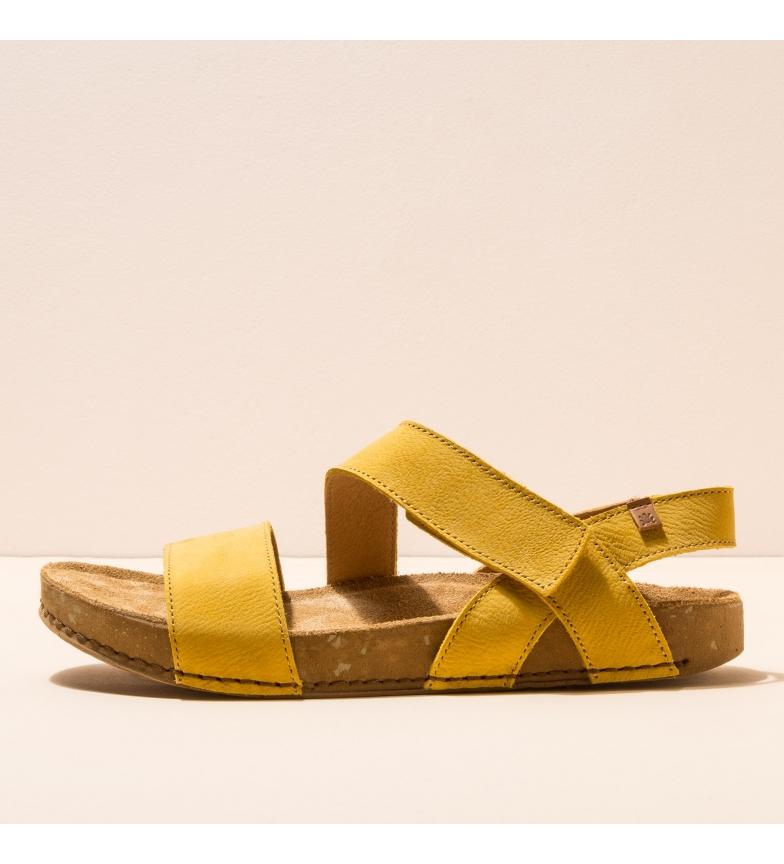Comprar EL NATURALISTA Sandales en cuir N5791 Balance jaune