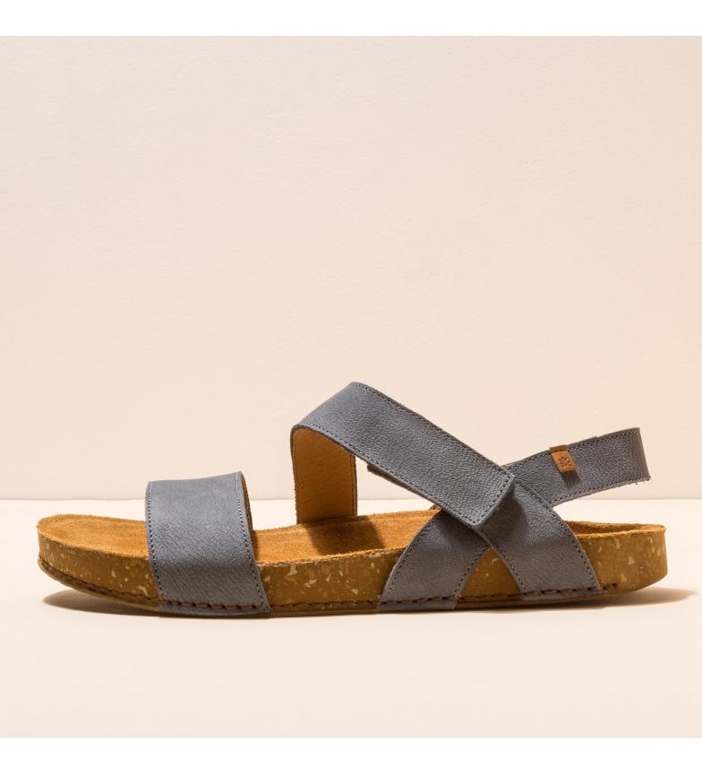 Comprar EL NATURALISTA Sandalias de piel N5791 Balance azul