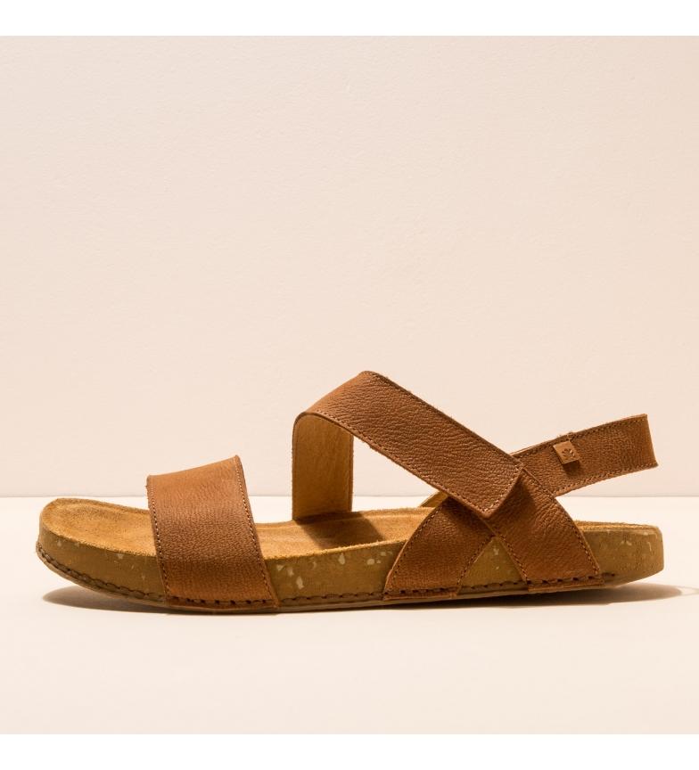 Comprar EL NATURALISTA Sandales en cuir N5791 Balance marron