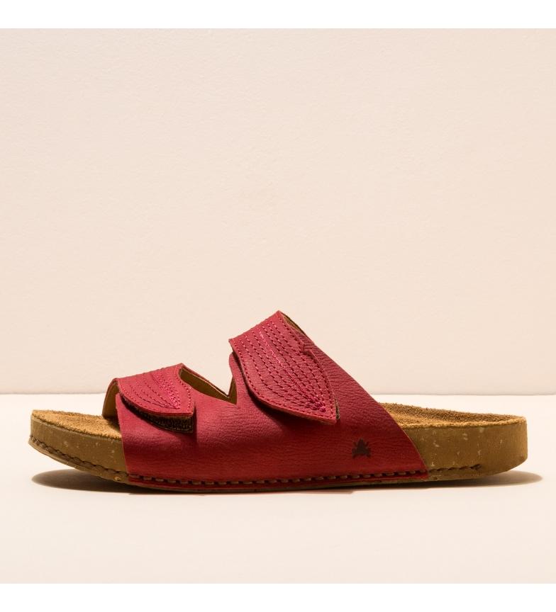 Comprar EL NATURALISTA Sandálias de couro N5793 Balanço vermelho