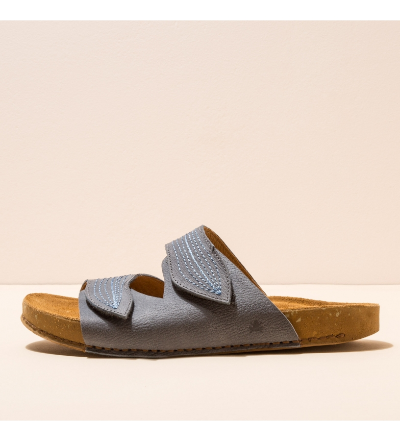 Comprar EL NATURALISTA Leather sandals N5793 Balance blue