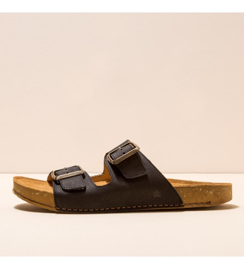 Comprar EL NATURALISTA Sandalias de piel N5794  Balance negro