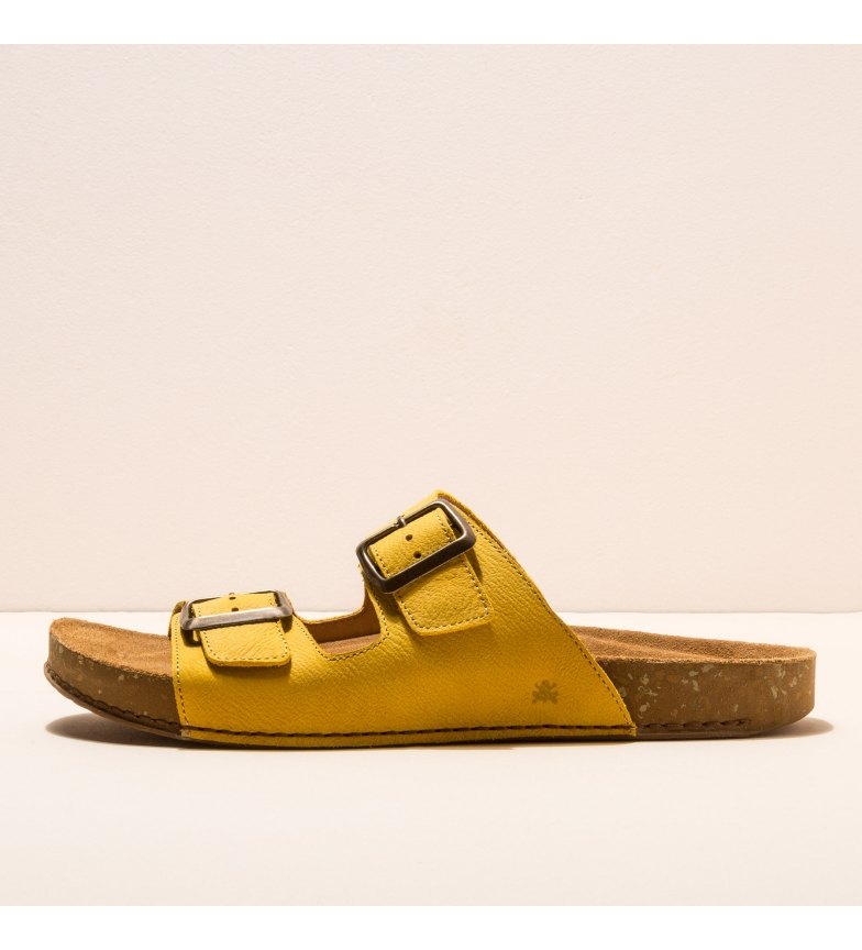 Comprar EL NATURALISTA Sandálias de couro N5794 Equilíbrio amarelo