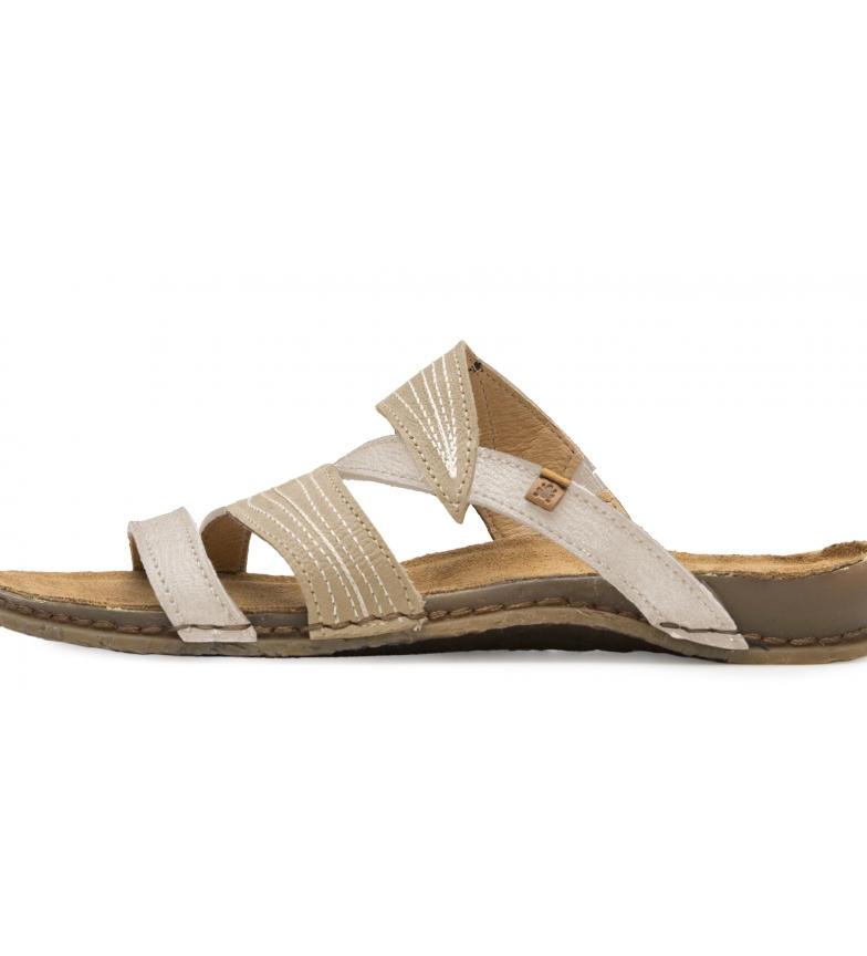 Comprar EL NATURALISTA Sandálias de couro N5812 Panglao branco