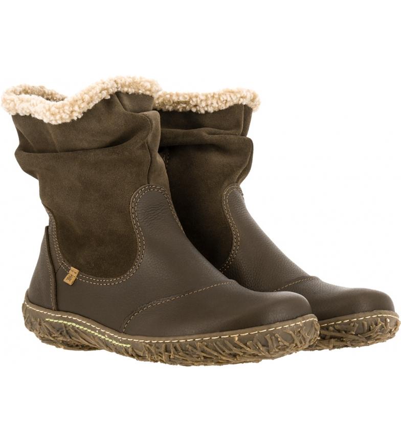 Comprar EL NATURALISTA Leather Boots N758 Soft Grain-lux Suede Brown / Nest