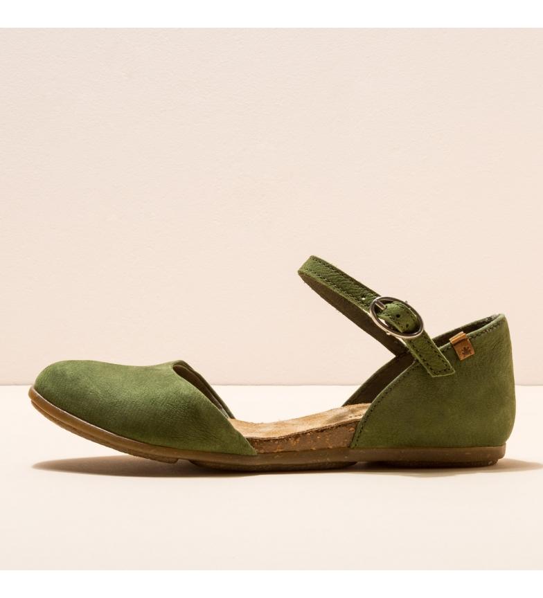 Comprar EL NATURALISTA Bombas de bailarina de couro ND54 Stella green