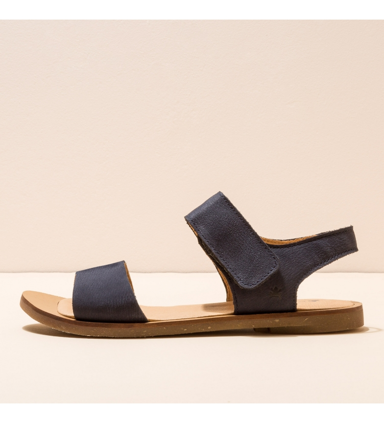 EL NATURALISTA Leather sandals NF30 Tulip black