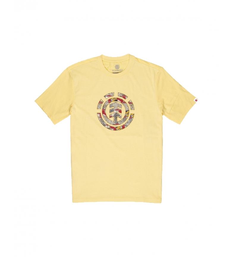 ELEMENT T-shirt gialla con l'icona delle origini