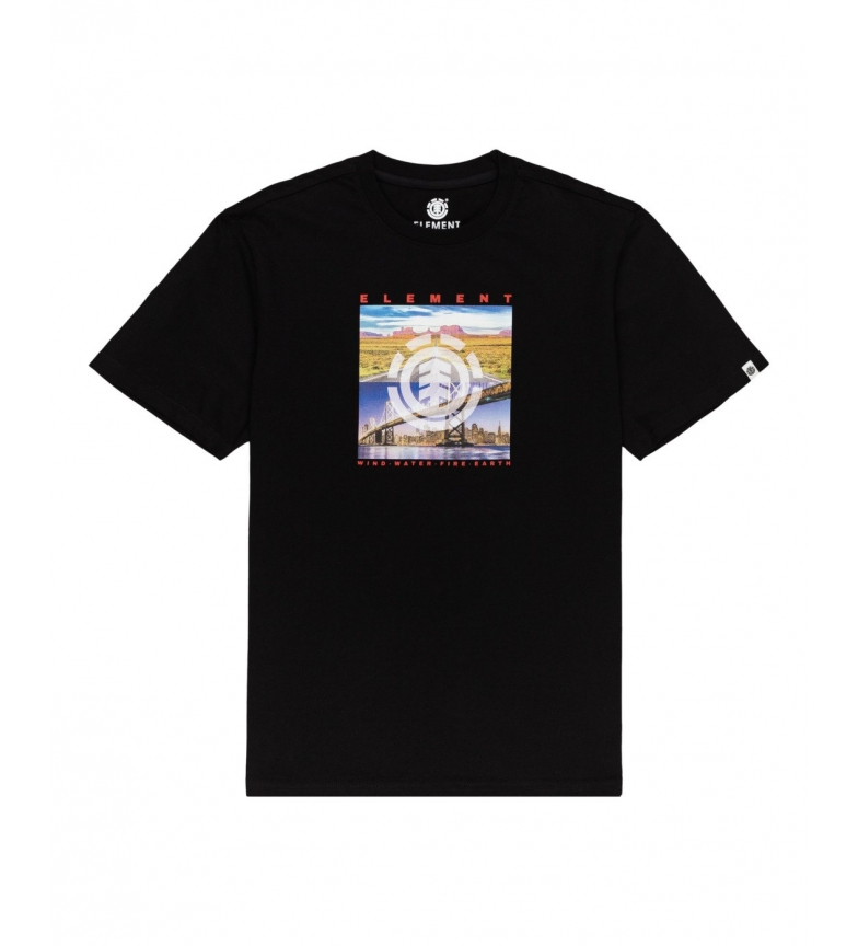 ELEMENT Camiseta Peoria preta