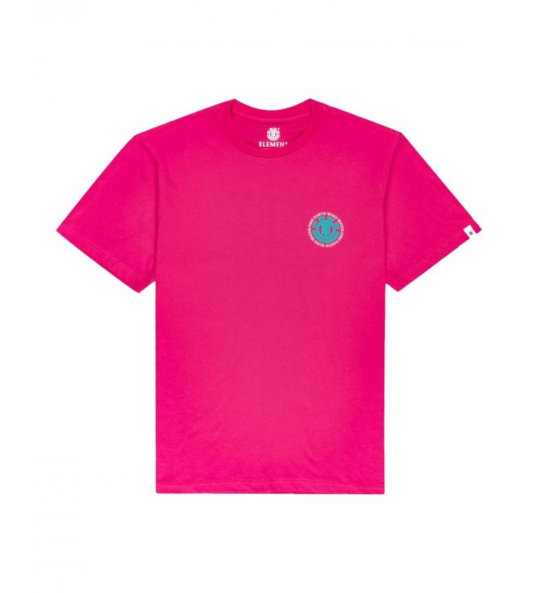 ELEMENT Camiseta Seal rosa