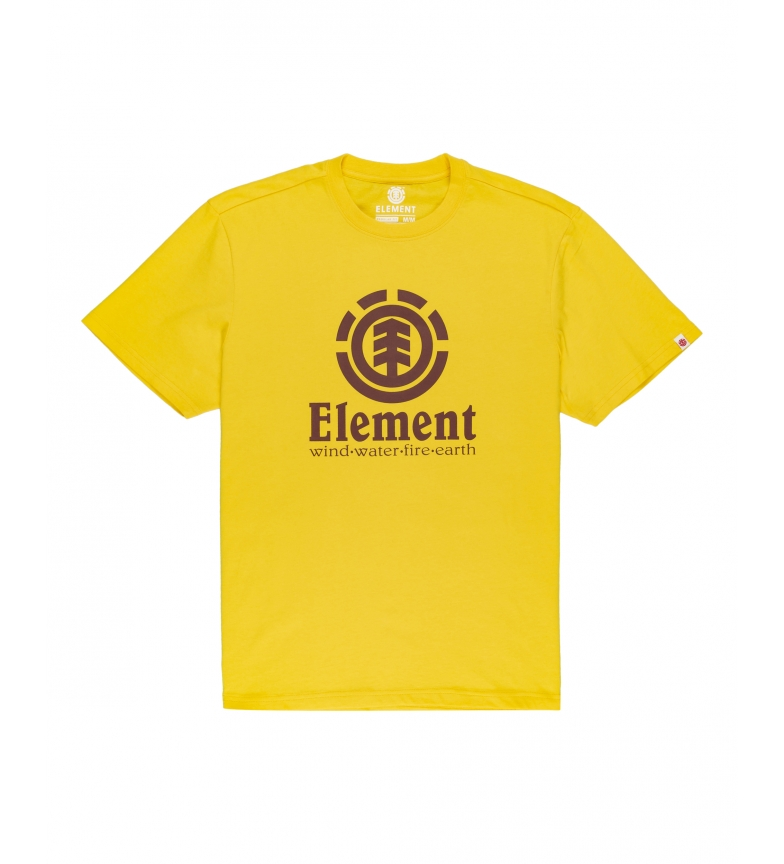 ELEMENT T-shirt Vertical jaune
