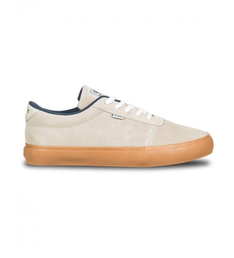 ELEMENT Sneakers Sawyer in pelle beige