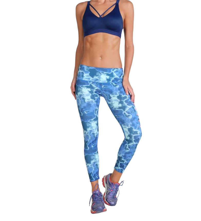 Elle Sport Mallas Mola azul
