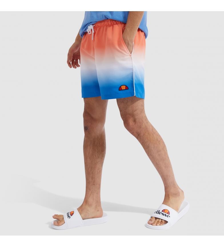 Ellesse Dem Slackers Fade swimsuit orange, blue