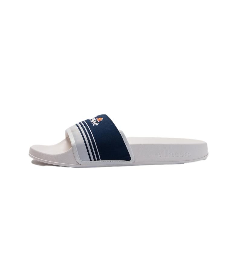 Ellesse Infradito Filippo Jacquard blu navy, bianco