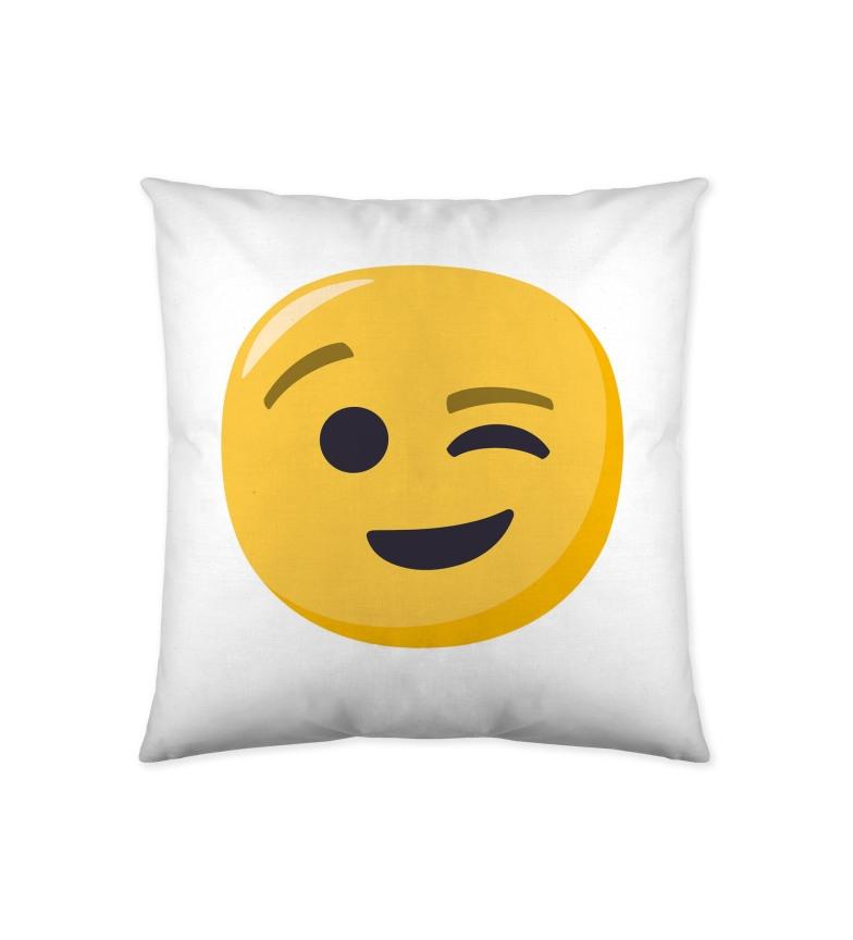 Comprar EMOJI Cojín Emoji Winking -40x40 cm-