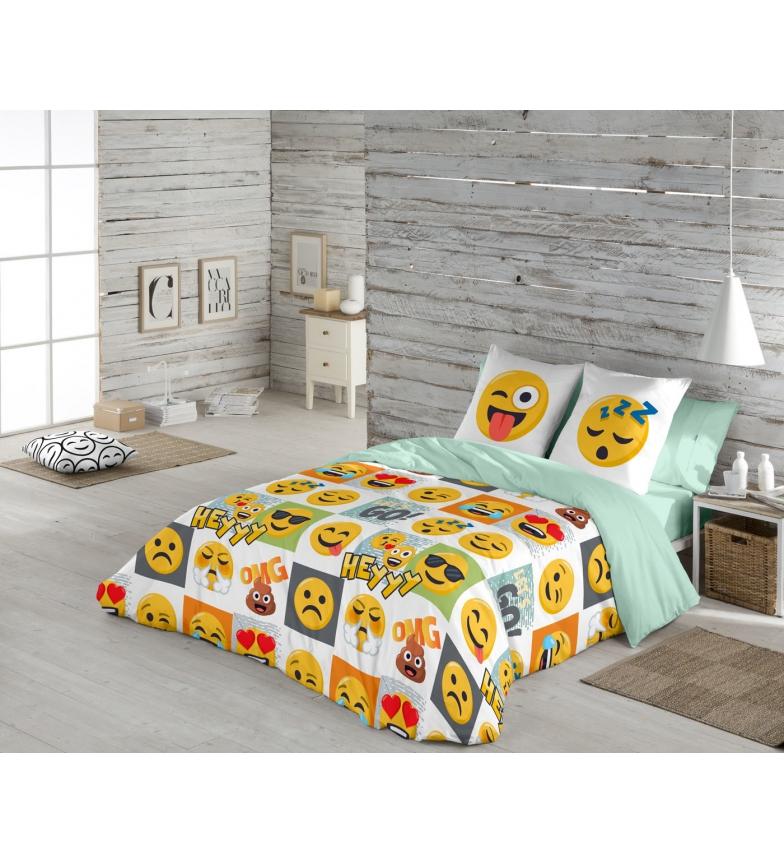 Comprar emoji funda n rdica 2 piezas hey cama 105 cm for Funda nordica cama 105